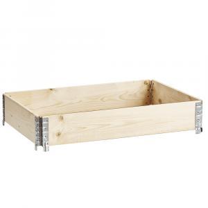 Stohovateľný vyvýšený záhon, drevo, JUBOL TYP 1