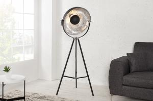 Stojaca lampa Big Studio 160 cm strieborná