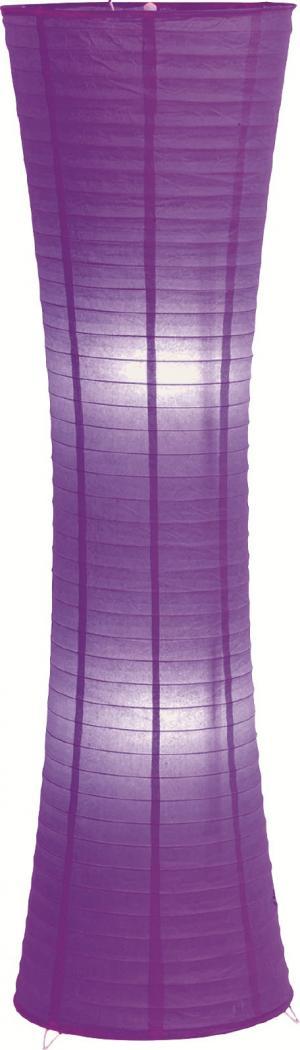 Stojaca lampa Lidda, fialová