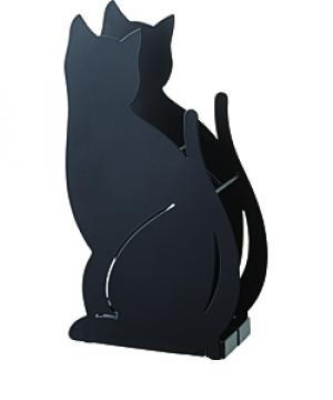 Stojan na dáždniky Yamazaki Cat, čierny