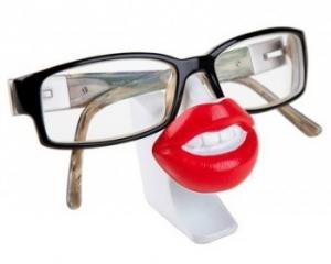 Stojan na okuliare Ústa