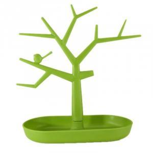 Stojan na šperky TREE, zelený