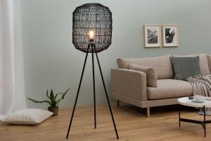 Stojanová lampa Hash / čierna