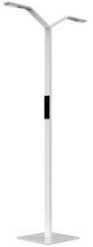 Stojanová lampa Luctra FLOOR TWIN LINEAR 923702, N/A, biela