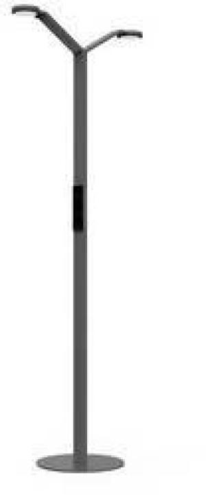Stojanová lampa Luctra FLOOR TWIN RADIAL 923801, N/A, čierna