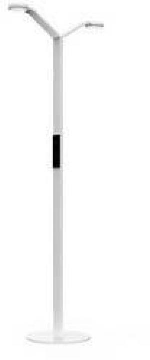 Stojanová lampa Luctra FLOOR TWIN RADIAL 923802, N/A, biela