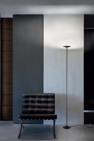 Stojanové svietidlo LINEA Poe FL black LED 8346