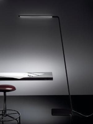 Stojanové svietidlo MADE Lama FL čierna LED 7101