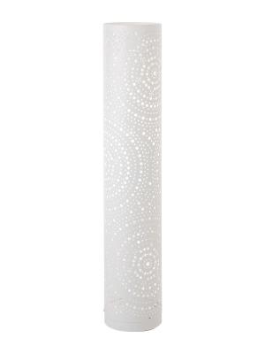 Stojanové svietidlo REDO PEA biela E27  01-1094