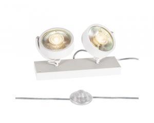 Stojanové svietidlo SLV KALU  QPAR111 biela 1000924