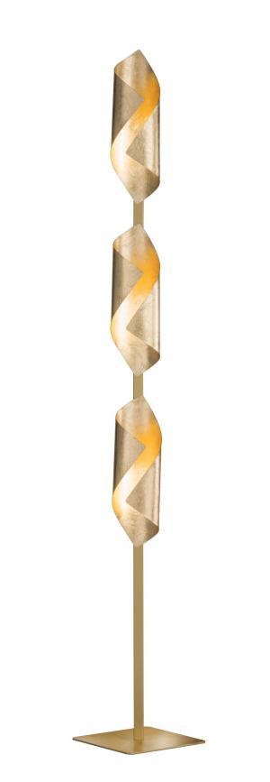 Stojanové svietidlo WOFI Safira zlatá 3325.03.15.8000