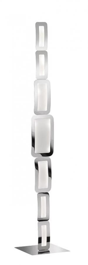 Stojanové svietidlo WOFI Saga LED chrom 3526.07.01.6000