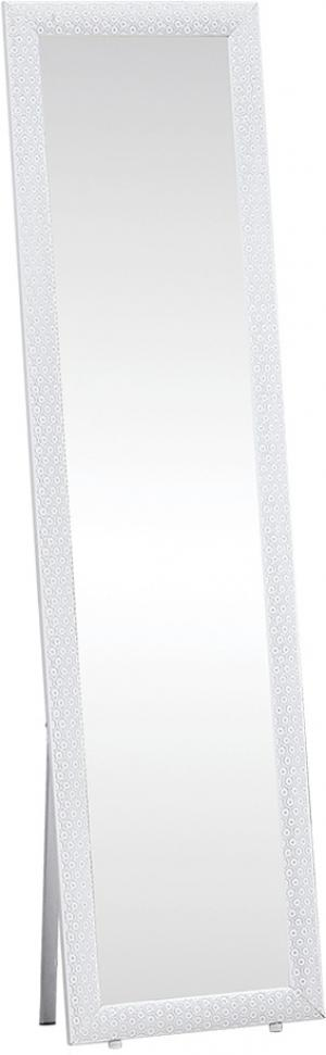 Stojanové zrkadlo, biela, LAVAL