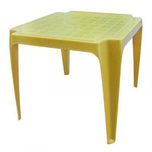 Stôl BABY žltý