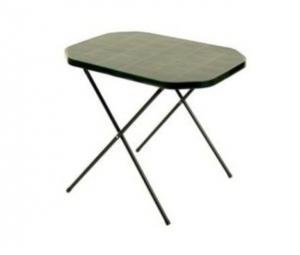 Stôl camping 53x70cm zelený