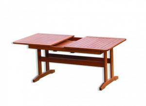 Stôl LUISA - rozkladací borovica