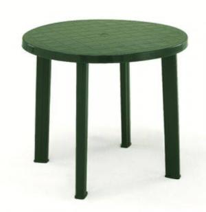 Stôl TONDO zeleny