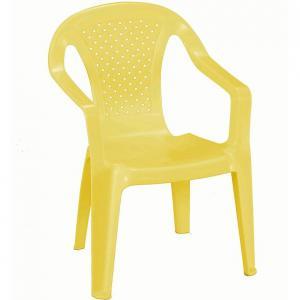 Stolička detská žltý