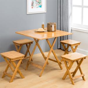 Stolička, prírodný bambus, DENICE