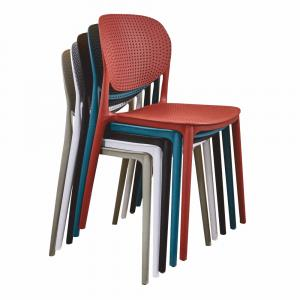 Stolička, sivá, FEDRA