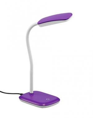 Stolná lampa Boa 52431193, fialovobiela