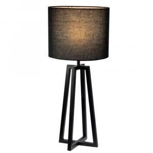 Stolná lampa, čierna, QENNY 15 LT8074