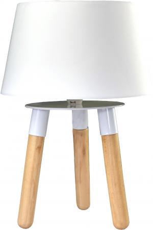 Stolná lampa Lifetime biela