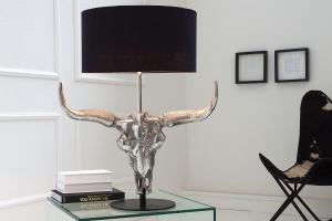 Stolná lampa Randal 68 cm / čierna