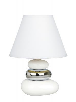 Stolová lampa - Rabalux - Salem 4949 (biela + strieborná). Sme autorizovaný predajca Rabalux.