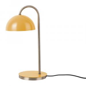 Stolová lampa v matnežltej farbe Leitmotiv Decova