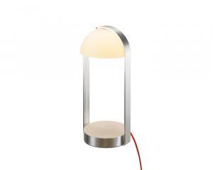 Stolové svietidlo SLV  BRENDA, LED, bílá/stříbrná 146101