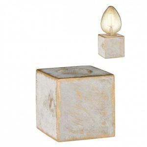 Stolové svietidlo WOFI Broad šedá / zlatá 8213.01.50.7100