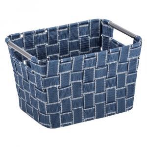 Stredne veľký modrý košík Wenko Fedra
