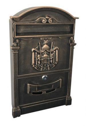 Strend Pro 252261 Schranka ALU, hliníková, antique bronze, 410x255x090 mm