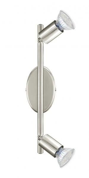 Stropné svietidlo EGLO BUZZ-LED matný nikel 92596