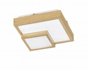 Stropné svietidlo WOFI Hudson drevo 9042.01.51.8000