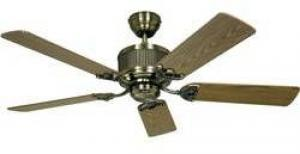 Stropný ventilátor CasaFan Eco Elements, (Ø) 132 cm, dub starožitný, buk
