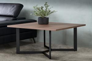Štýlový konferenčný stolík Aage 70cm, vlašský orech