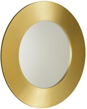 Sunbeam SB900 zrkadlo v ráme, priemer 90cm, zlaté