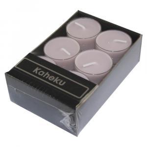 Súprava 12 ružových čajových sviečok Ego Dekor Silea, doba horenia 4 h