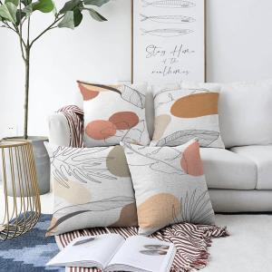Súprava 4 obliečok na vankúše Minimalist Cushion Covers Uma, 55 x 55 cm