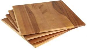 Súprava 4 prestieraní z akáciového dreva T&G Woodware Tuscany