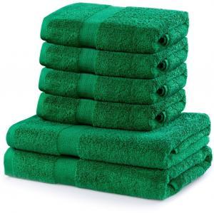 Súprava uterákov DecoKing MARINA zelená