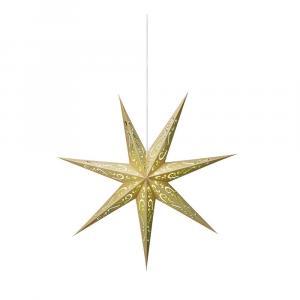 Svetelná dekorácia v zlatej a zelenej farbe Markslöjd Elin, ø 75 cm