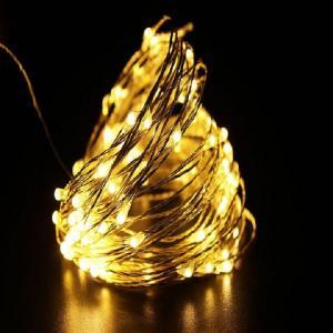 Svetelný LED reťaz Farba: biela, Veľkosť: S