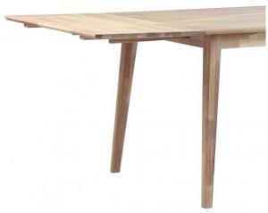 Svetlá dubová doska na predĺženie rozkladacieho dubového jedálenského stola Rowico Mimi
