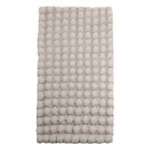 Svetlosivý relaxačný masážny matrac Linda Vrňáková Bubbles, 110 × 200 cm