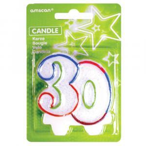 sviečka číslo 30