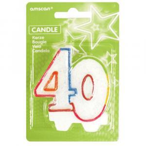 sviečka číslo 40