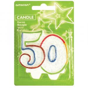 sviečka číslo 50